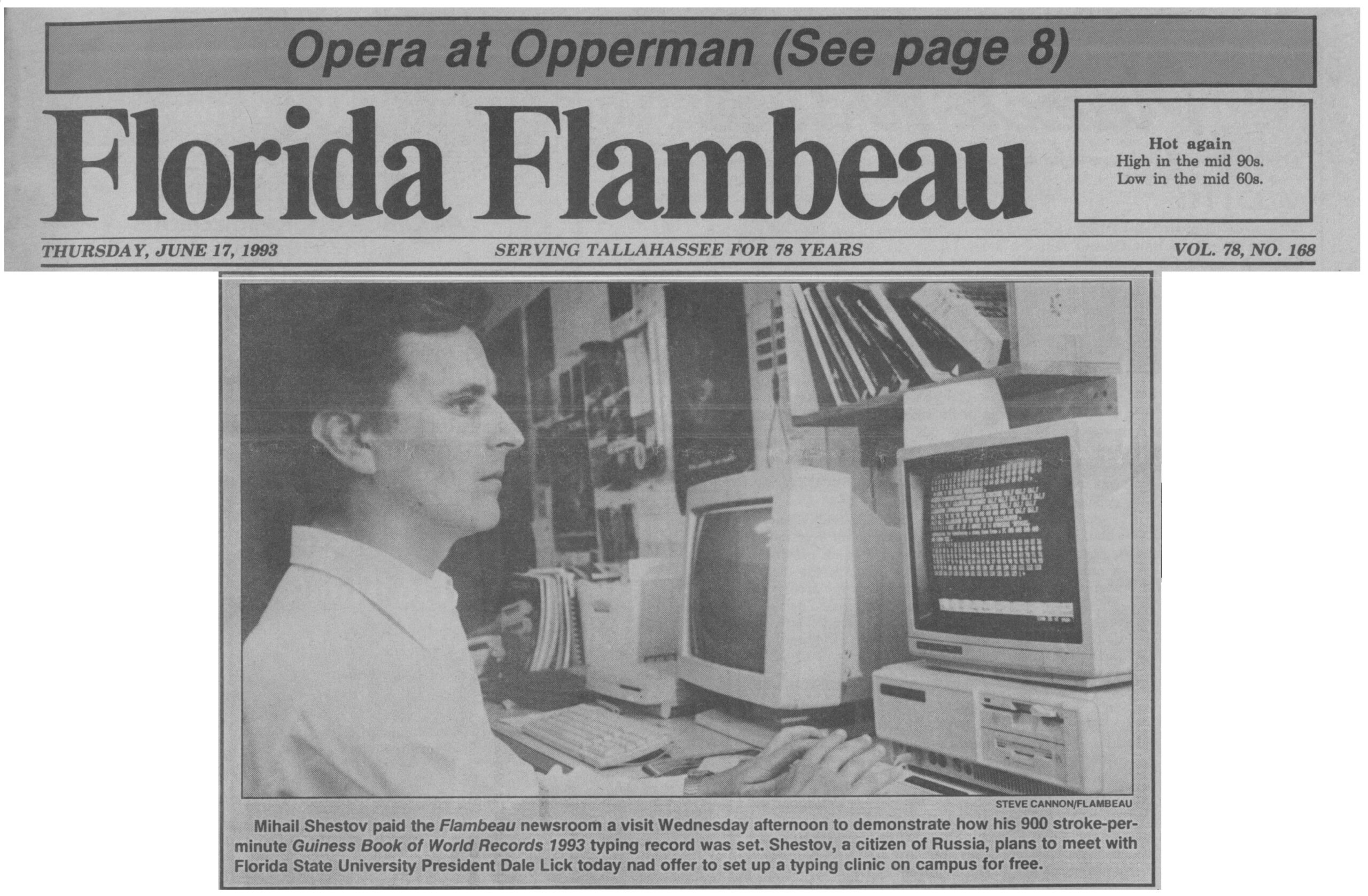 Florida Flambeau, 1993